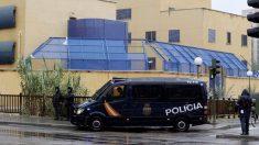 Un furgón de la Policía Nacional. Foto: EFE