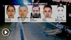 Los terroristas del 17-A y sus destinos.