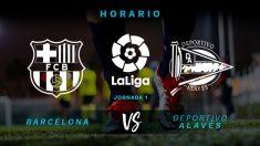 Liga Santander: Barcelona – Alavés | Horario partido del Barça | Fútbol hoy