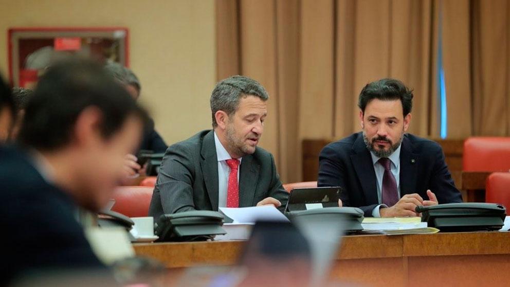 Jaime de Olano, el portavoz de Presupuestos del PP en el Congreso. Foto: Europa Press