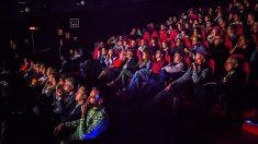 Espectadores en una sala de cine. (EP)