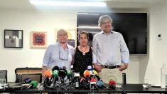 Rueda de prensa de las víctimas de los atentados de Barcelona y Cambrils. (EP)
