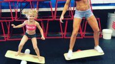 Brodie Bowen, la niña fitness que arrasa en Internet