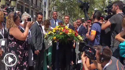 Pablo Casado en los homenajes de los atentados de Barcelona y Cambrils
