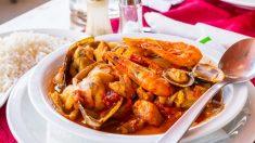 Receta de Cataplana de pescado tradicional de Portugal