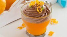Receta de Crema de naranja y pistachos, un postre fácil de preparar