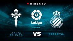 Liga Santander: Celta – Espanyol   Partido de fútbol hoy en directo