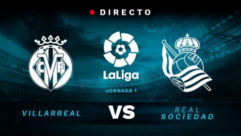 Liga Santander: Villarreal – Real Sociedad | Partido de fútbol hoy en directo