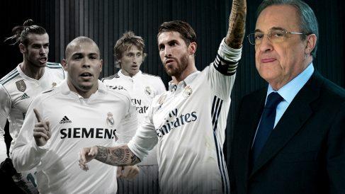 Ronaldo, Ramos, Modric o Bale llegaron a última hora en el mercado de fichajes.