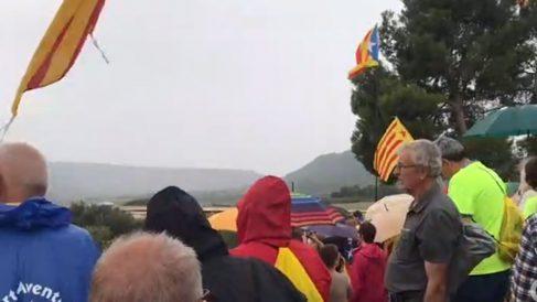 Separatistas en Lledoners.