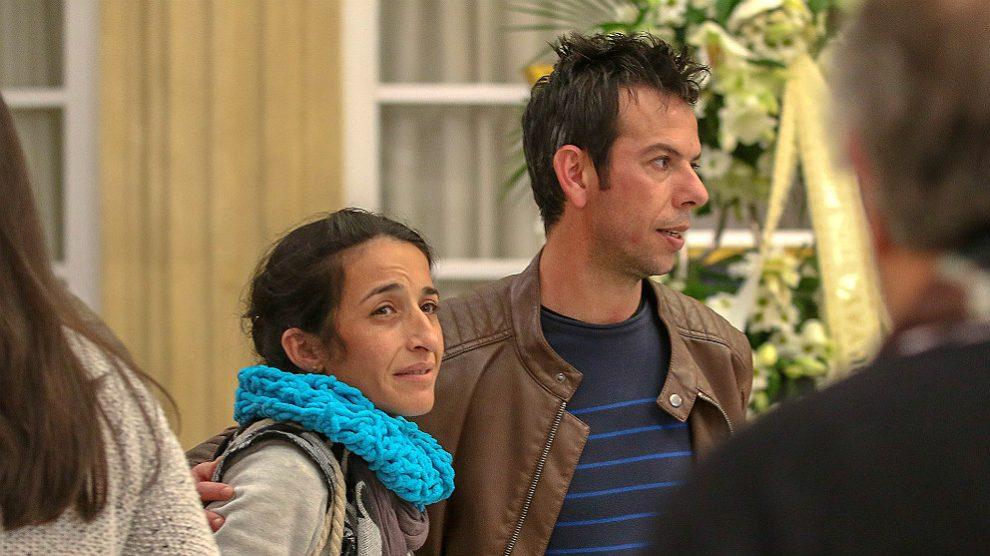 Los padres del niño Gabriel, Patricia Ramírez y Ángel Cruz. (EP)