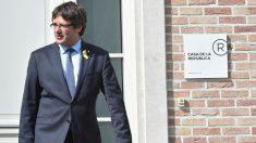 Carles Puigdemont en el domicilio que utiliza en Waterloo, Bélgica. Foto: AFP