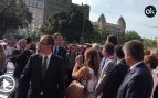 """Felipe VI aclamado con gritos de """"¡Viva el Rey!"""" en los actos en homenaje a las víctimas de los atentados del 17-A"""