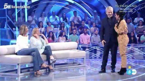 Beatriz Luengo ha mostrado su otra cara en 'Volverte a ver'