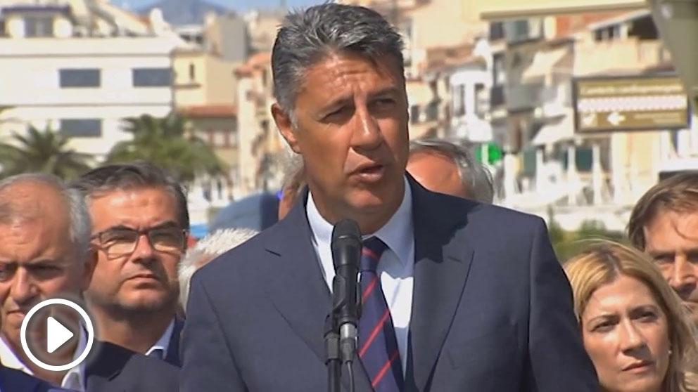 Xavier García Albiol en Cambrils