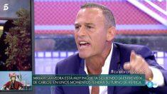 Carlos Lozano monta en cólera en 'Sábado Deluxe'