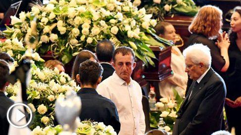 Funeral de Estado en Italia (AFP).