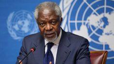 Muere Kofi Annan.