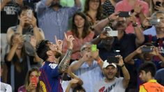 Messi vuelve a salvar al Barcelona. (AFP)