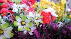 Algunas ideas originales para decorar con flores artificiales