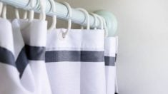 Todos los pasos para limpiar las cortinas del baño