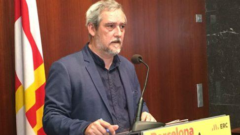 Jordi Coronas, portavoz de ERC en el Ayuntamiento de Barcelona (Foto: ERC)