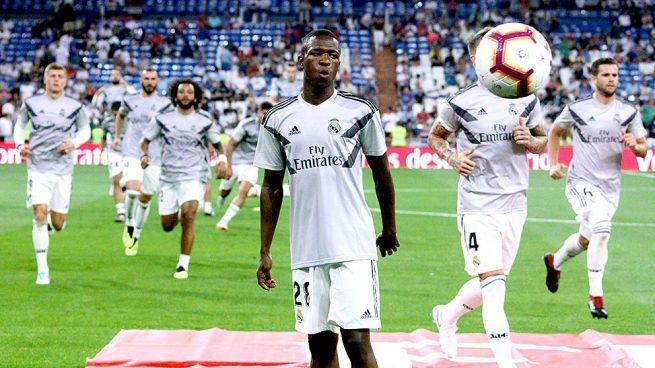El 'plan Vinicius': entrenará con el primer equipo y jugará con el Castilla