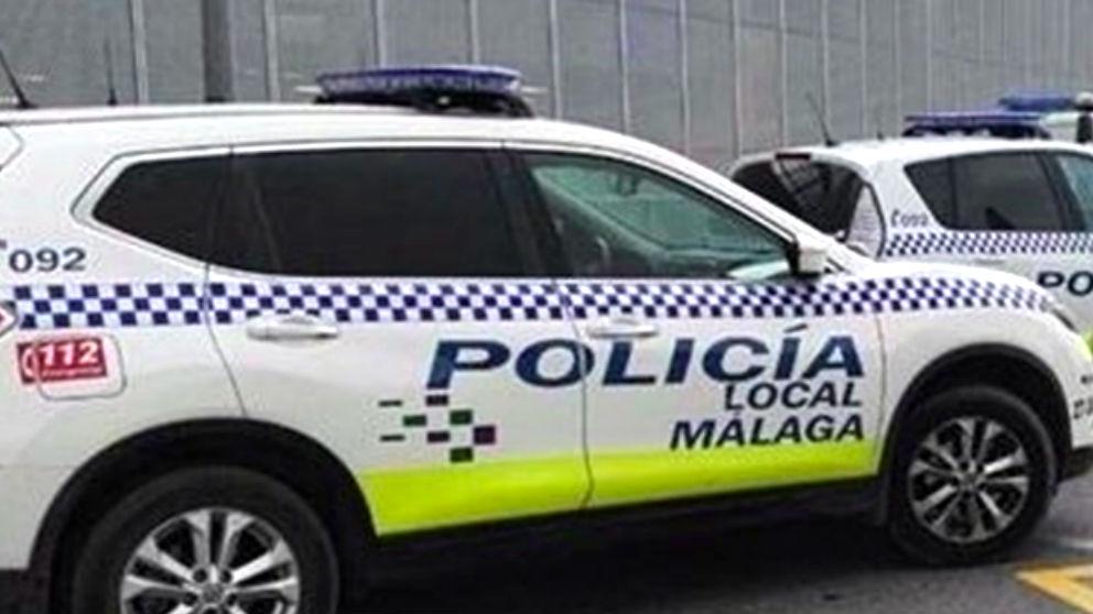 Coche de la Policía Local de Málaga.