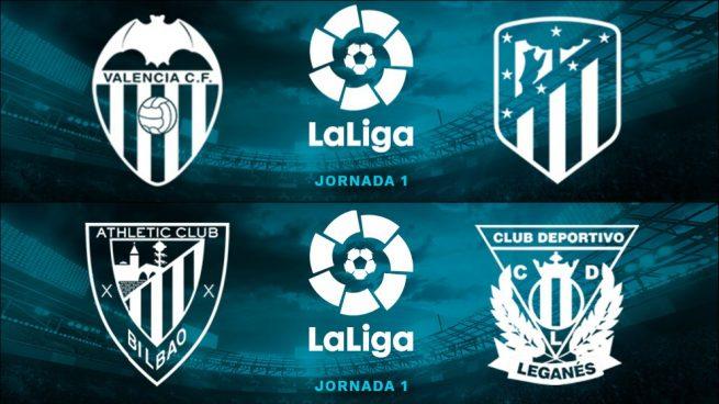 Partidos de la Liga Santander hoy lunes 20 de agosto