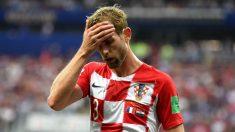Strinic, en la final del Mundial con Croacia. (Getty)