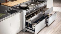 Cómo ahorrar espacio en la cocina