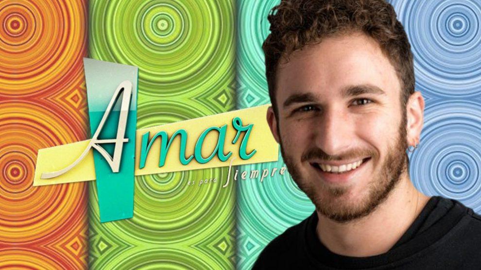 David Castillo, será protagonista de 'Amar es para siempre'