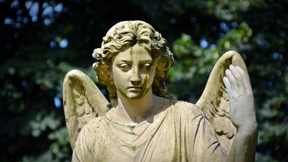 Los ángeles, tantas veces representados.