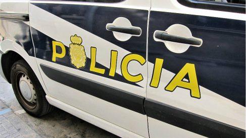 Coche Policía Nacional en una intervención. (EP)