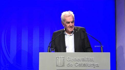 Ernest Maragall, consejero de Acción Exterior de la Generalitat de Cataluña. (EP)