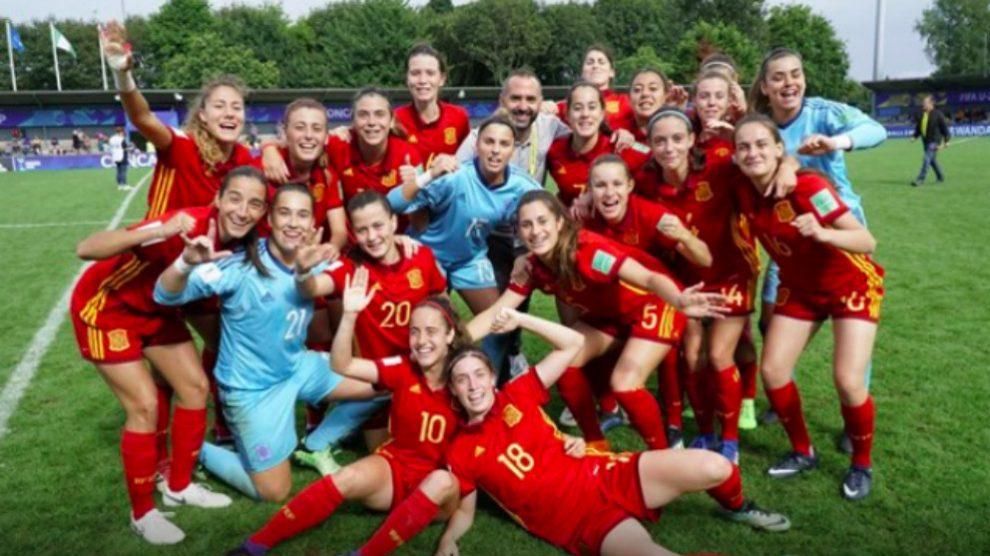 España jugará la final del Mundial sub-20 femenino contra Japón. (RFEF)