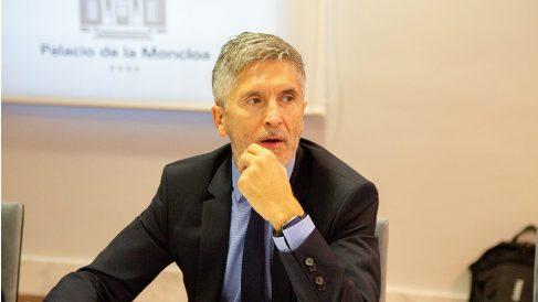 Fernando Grande-Marlaska, ministro del Interior. (Foto: EP)
