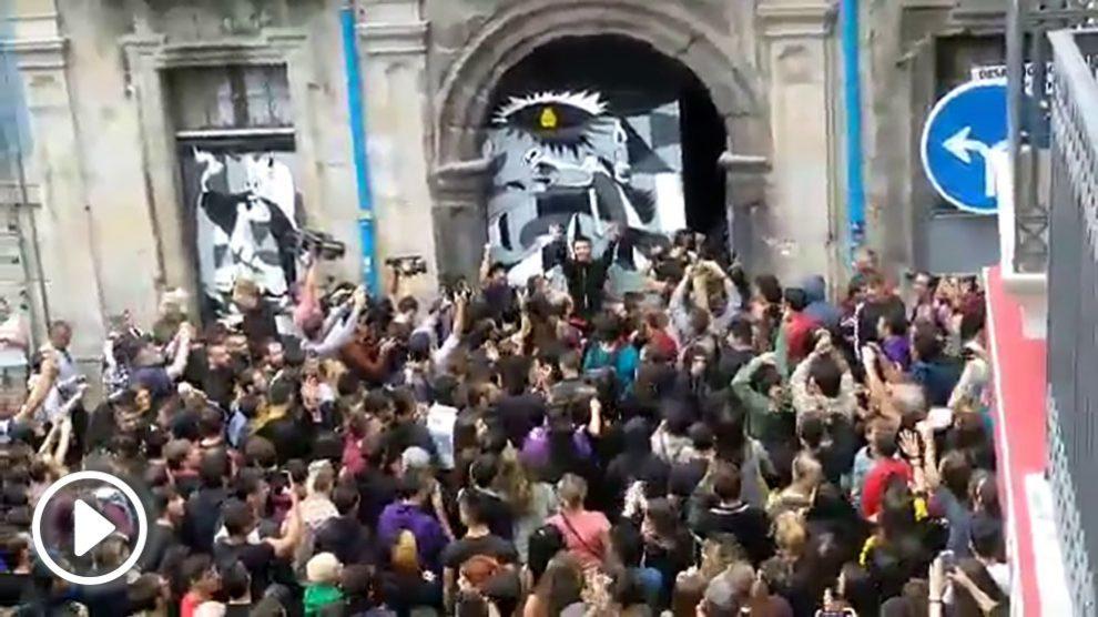 Los okupas vuelven a entrar por la fuerza en el  Palacio Marqués de Rozalejo