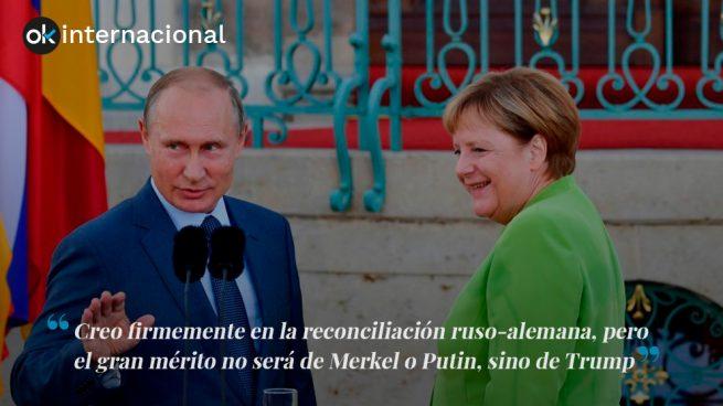 La reconciliación entre Alemania y Rusia
