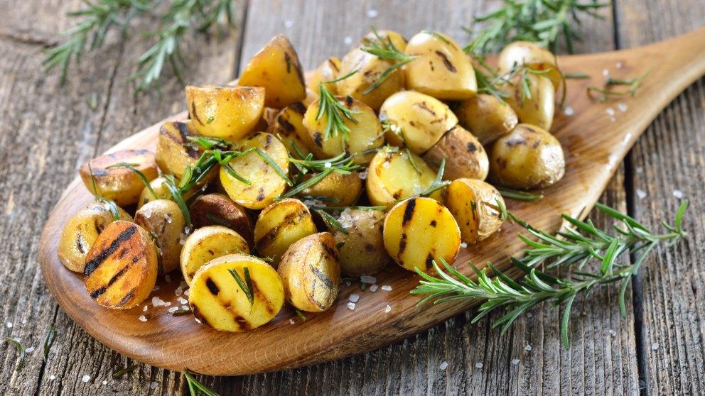 Receta de patatas al romero