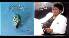 'Greatest Hits 1971-1975', disco de 'The Eagles', y 'Thriller' de 'Michael Jackson'.