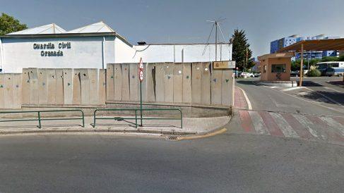 Comandancia de la Guardia Civil en Granada.