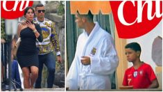 Cristiano Ronaldo, en la portada de Chi, con su polémica camiseta de torero.