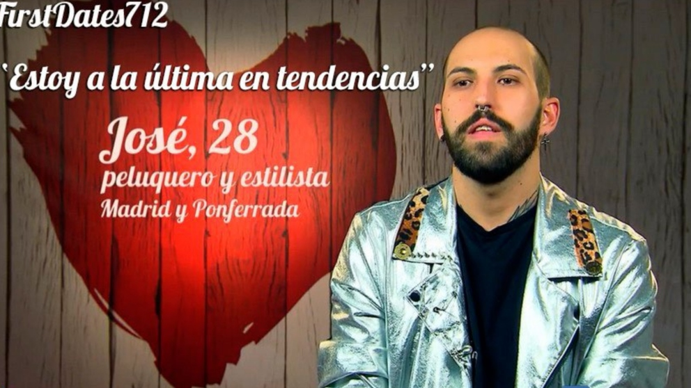 José se ha ido de vacío en 'First Dates'