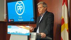Alberto Fernandez, portavoz de l PP en el Ayuntamiento de Barcelona. (EP)