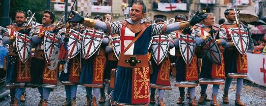 Las escuadras de Moros y Cristianos en la Reconquista sólo tenían guerreros