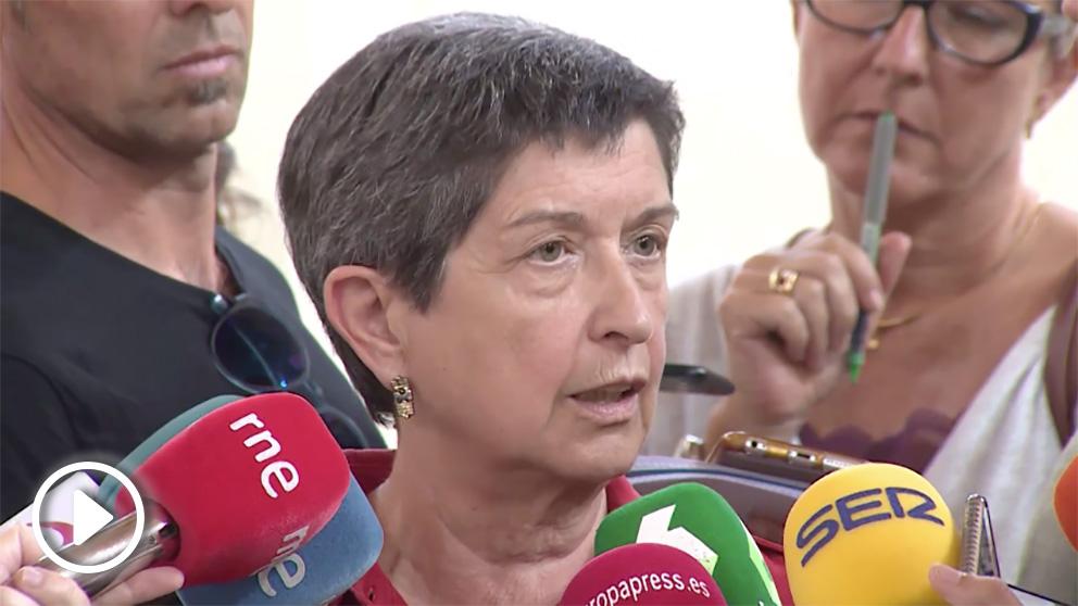 Teresa Cunillera, delegada del Gobierno en Cataluña.