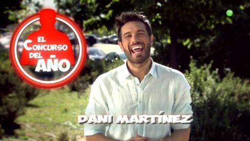 Dani Martínez presenta 'El concurso del año'