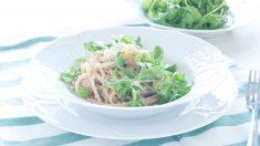 Receta de ensalada de pasta con salsa de atún, original y fácil