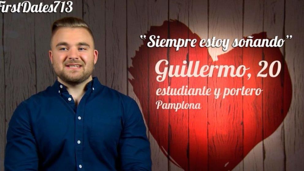 A Guillermo le gustaban más sus músculos que su cita de 'First Dates'